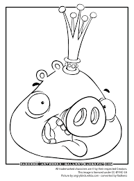 Angry Bird Epic Coloring Pages