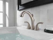 mini widespread faucet delta delta mini widespread home faucets ebay