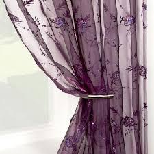 Dark Purple Ruffle Curtains by Best 25 Purple Curtains Ideas On Pinterest Purple Bedroom