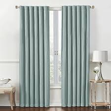 Bed Bath Beyond Blackout Curtain Liner by Rockwell Rod Pocket Back Tab Room Darkening Window Curtain Panel
