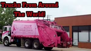 GARBAGE TRUCKS From Around The World #1 - YouTube