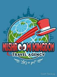 Mushroom Kingdom Travel Agency By Grant Thackray