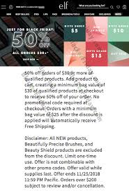 E.l.f. Cosmetics Black Friday 2020 Sale - What To Expect ... How To Get Free Coupons For Your Next Pcb Project Using Coupon Codes Grandin Road Shipping Cyber Monday Deals 5 Trends Guide Your Black Friday Marketing In 2019 Emarsys Zomato Coupons Promo Codes Offers 50 Off On Orders Jan 20 Digitalocean Code 100 60 Days Github Best Monday 2017 Home Sales Ikea Target Apartment Wayfair Any Order 20 Facebook Drsa Colourpop Rainbow Makeup Collection Coupon Code Discount Technological Game Changers Convergence Hype And Evolving Adobe Sale What Expect Blacker