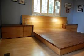 platform bed bunchberry woodworking