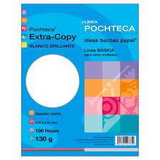 PAPEL EXTRACOPY BR 130G CARTA 100H