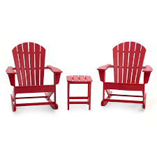 Belham Living Belmore Resin Adirondack Rocking Chairs & Free Side Table Charleston Acacia Outdoor Rocking Chair Soon To Be Discontinued Ringrocker K086rd Durable Red Childs Wooden Chairporch Rocker Indoor Or Suitable For 48 Years Old Beautiful Tall Patio Chairs Folding Foldable Fniture Antique Design Ideas With Personalized Kids Keepsake 3 In White And Blue Color Giantex Wood Porch 100 Natural Solid Deck Backyard Living Room Rattan Armchair With Cushions Adams Manufacturing Resin Big Easy Crp Products Generations Adirondack Liberty Garden St Martin Metal 1950s Vintage Childrens