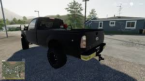 100 Truck From The Expendables F350 Single Cab Dully V1000 FS19 Farming Simulator 17 2017 Mod