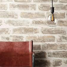 newroom vliestapete steintapete creme steintapete ziegelstein backstein mauerwerk klinker stein tapete steinoptik wohnzimmer tapete steinoptik