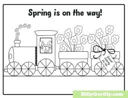 Spring Coloring Pages Printable 932 Is On The Way Page Mind Blowing Pdf