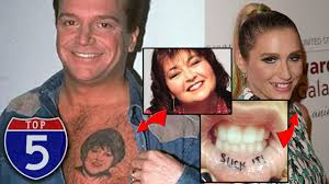 Top 5 Worst Celebrity Tattoos