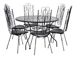 Vintage Spanish Style Six Chair Dining Table Set Metal Scrolls Mid Century  Patio Set Rare Coaster Cleveland 5pc Oval Retro Ding Table Set In Whitechrome 3925 White Metal Tulip Outdoor Kitchen And Chairs Wooden Garden Chair 42 Extraordinary Room Zinc Small Lewis Gumtree Winsome Details About Industrial Rectangle Oak Vintage Leather Spring Colorful Amazing 3 Pcs And Frame Walnut Black Sets Legs Menards Base Dinette Home Glass Top Only An Argos Ideas John Tables Round Chrome Ipirations 1950s