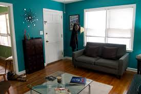 Teal Living Room On Home Design Styles Interior Ideas With