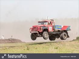 100 Truck Jumping On Racing Line Stock Photo I4081436 At FeaturePics
