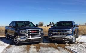 2016 Chevy Silverado 5.3L V8 Vs. 2016 GMC Sierra 6.2L V8 Mega ... Gmc Comparison 2018 Sierra Vs Silverado Medlin Buick F150 Linwood Chevrolet Gmc Denali Vs Chevy High Country Car News And 2017 Ltz Vs Slt Semilux Shdown 2500hd 2015 Overview Cargurus Compare 1500 Lowe Syracuse Ny Bill Rapp Ram Trucks Colorado Z71 Canyon All Terrain Gm Reveals New Front End Design For Hd