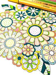 Flower Designs Coloring Book Volume 1 Jenean Morrison Art Design