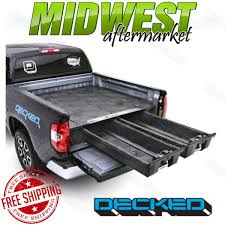 100 Pickup Truck Bed Storage Decked System Fits 20092017 Dodge Ram 1500 57