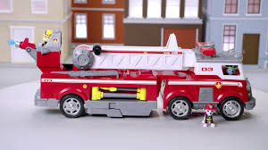 PAW Patrol Ultimate Rescue Fire Truck With Extendable 2 Ft. Tall ...