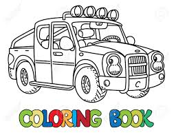 Pickup Truck Coloring Book For Kids. Small Funny Vector Cute ... Fire Truck Coloring Pages Getcoloringpagescom 40 Free Printable Download Procoloring Monster Book 8588 Now Mail Page Dump For Kids 9119 Unique Gallery Sheet Semi With Peterbilt New 14 Inspirational Ram Pictures Csadme Simple Design Truck Coloring Pages Preschoolers 2117 20791483 Www Garbage To Download And Print