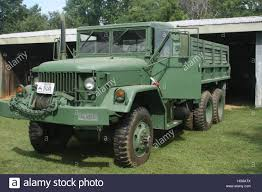 Large Green Army Truck Stock Photo: 130491226 - Alamy