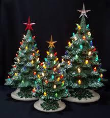 Fibre Optic Christmas Trees Ebay by Christmas Ceramicistmas Tree With Lights Free Lavender Ebay 82