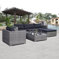 Outsunny Patio Furniture Assembly Instructions by Gym Equipment Outdoor Rattan Furniture Set Patio Pe Cushion Covers
