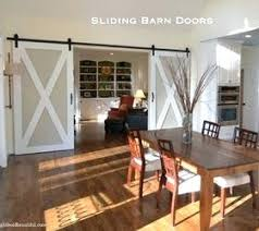 Barn Doors For Dining Room Ways To Use Interior Sliding Barn Doors