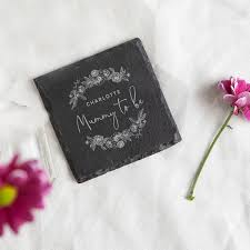 Mummy To Be Personalised Coaster Baby Shower Gift