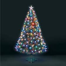 7ft Christmas Tree Uk by 6ft Superstar Green Fibre Optic U0026 Led Christmas Tree Ebay