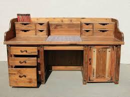 Image Of Western Rustic Desk