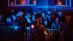 Greenwich Village Halloween Parade Street Closures by Halloween Parade Goes On Under Tight Security Story Wnyw