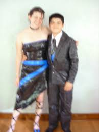 the duct tape prom dress singlemomenough