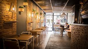 The Kaafi Coffee Shop In Hague Designed And Installed By Liqui Interior View Looking