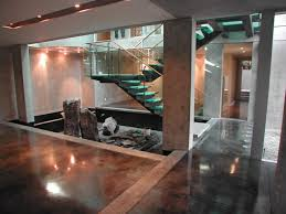 Restaining A Deck Do It Yourself by How To Stain Concrete Adding Color To Cement Surfaces Hgtv