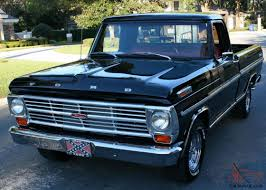 100 Pickup Truck Sleeper Cab ROCKETSHIP SLEEPER RESTOMOD 428CJ V8 1968 Ford F100 3 MI