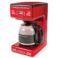 Retro Series 12 Cup Programmable Coffee Maker