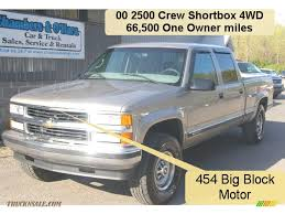 2000 Chevrolet Silverado 2500 LS Crew Cab 4x4 In Light Pewter ... 2000 Chevrolet Silverado 2500 74l 4x4 2001 Z71 Personal 6 Rcx Lift Ntd 20 Ls Pickup Truck Item I9386 Hd Video Chevrolet Silverado Sportside Regular Cab Red For Used Chevy S10 Trucks Truck Pictures 1990 Classics For Sale On Autotrader 1500 Extended Cab 4x4 In Indigo Blue Malechas Auto Body Regular Metallic 2015 Double Pricing For Rear Dually Fenders Lowest Prices Biscayne Sales Preowned