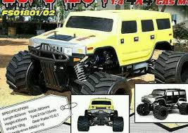100 Rc Gas Truck 14 Scale Rc Gas Truck Car Hummer Black New Radio Controled