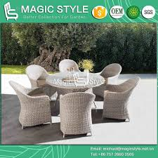 China Rattan Wicker Dining Set With Sunproof Cushion Outdoor ... 9363 China 2017 New Style Black Color Outdoor Rattan Ding Outdoor Ding Chair Wicked Hbsch Rattan Chair W Armrest Cushion With Cover For Bohobistro Ica White Huma Armchair Expormim White Open Weave Teak Suma With Arms Natural Hot Item Rio Modern Comfortable Patio Hand Woven Sidney Bistro Synthetic Fniture Set Of Eight Chairs By Brge Mogsen At 1stdibs Wicker Derektime Design Great Ideas Warm Rest Nature