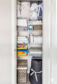 A Small Organized Linen Closet (And Ideas To Store Bulky Bedding ... Bathroom Kitchen Cabinets Fniture Sale Small 20 Amazing Closet Design Ideas Trendecora 40 Open Organization Inspira Spaces 22 Storage Wall Solutions And Shelves Cute Organize Home Decoration The Hidden Heights Height Organizer Shelf Depot Linen Organizers How To Completely Your Happy Housie To Towel Kscraftshack Bathroom Closet Organization Clean Easy Bluegrrygal Curtain Designs Hgtv Organized Anyone Can Have Kelley Nan