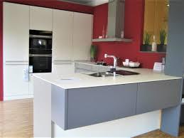 einbauküche in u form leicht mod concrete