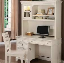 awesome white computer desk with hutch sauder harbor view intended