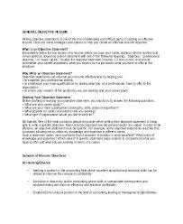 Resume Objective High School Student