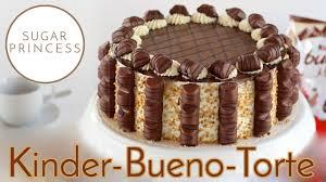 leckere bueno torte mit bueno sahne und wiener boden rezept sugarprincess