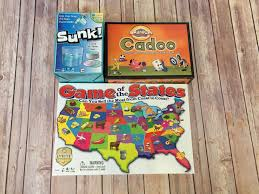 I Was Able To Review Cranium Cadoo Game Of The States And Sunk Let Me Tell You About These Fun Family Games