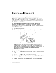 Copying A Document