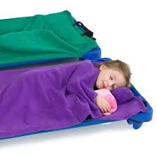 Rollee Pollee Nap Sac Blue – Nap Mat Cover Pillow Blanket