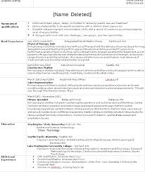 Lifeguard Description For Resume