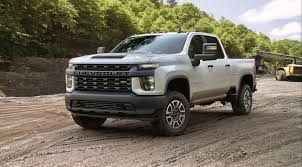 100 Chevy Work Truck 2020 Silverado HD Can Tow Up To 35500 Lbs And Gets A New 66L