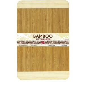"Home Basics Bamboo Cutting Board - 18"" x 12"""