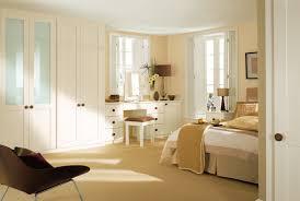 bedroom creative dark brown cherry wood wardrobe and black shade